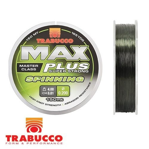 Najlon Trabucco Max Plus Spinning 0,20mm-0,30mm 150m