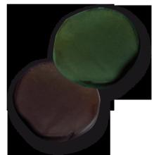 Tungsten Putty Carp Zoom 20g green-brown
