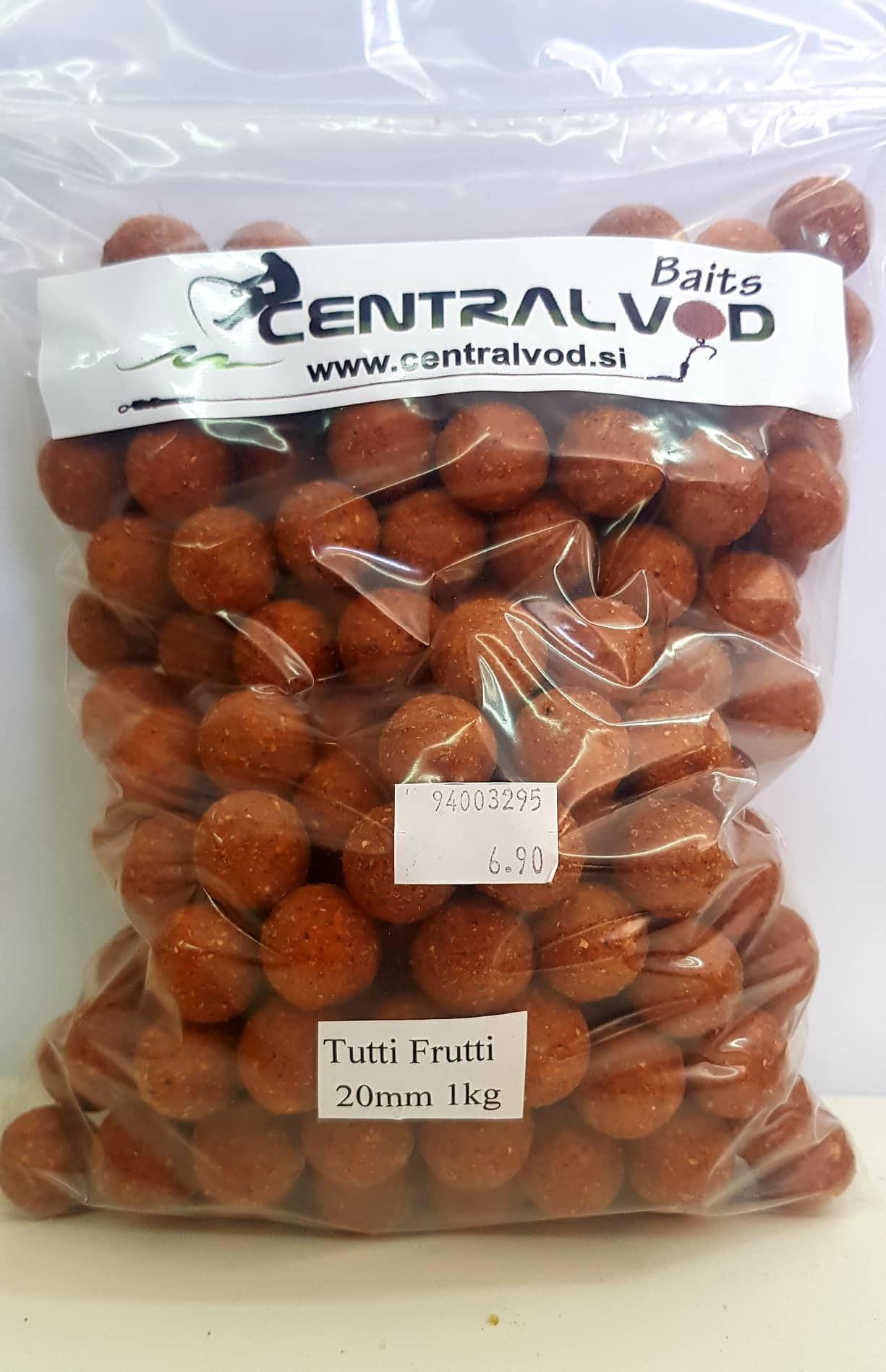 Bojli Centralvod Baits Tutti Frutti 20mm 1-3kg