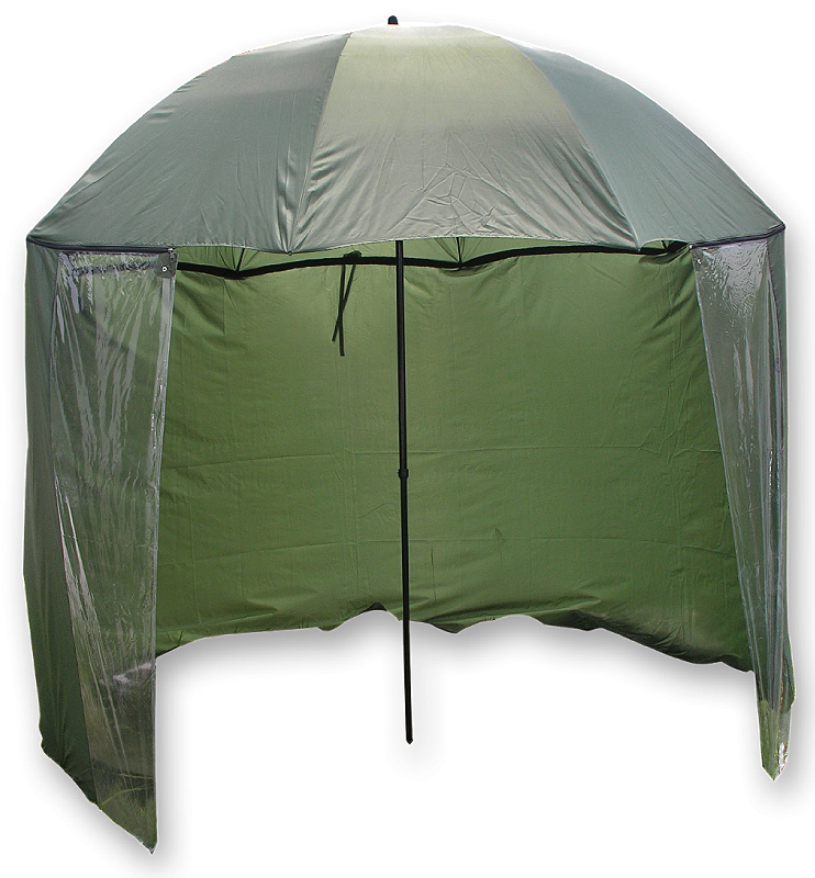 Dežnik z Baldahinom Carp Zoom Green 2,5m