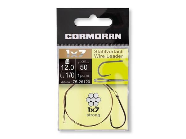 Jeklenica z trnkom Cormoran 1x7- izbra