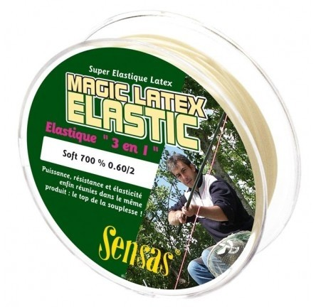 Guma za Štek Sensas Magic Latex Elastic 1,2-2,4 7m